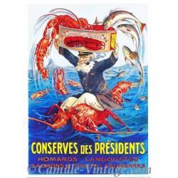 Postcard Conserves des Présidents