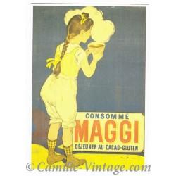 Postcard Maggi Consommé