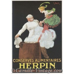 Postcard Conserves Alimentaires Herpin