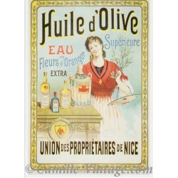 Postcard Huile d'Olive Nice