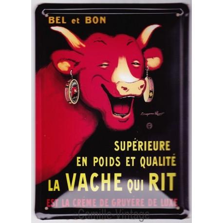 Plaque métal La Vache Qui Rit - Rabier
