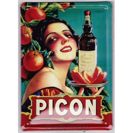Tin signs Picon Amer