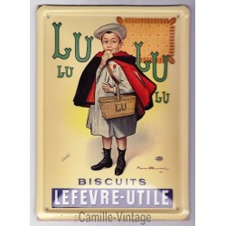 Tin signs LU Petit Ecolier