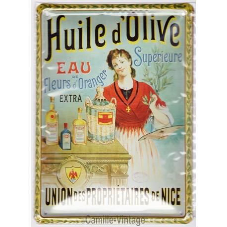 Tin signs Huile d'Olive Propriétaire de Nice