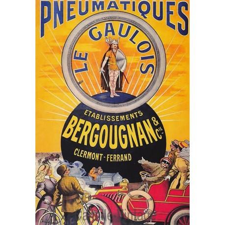 Carte Postale Pneumatiques Les Gaulois