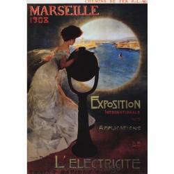 Postcard Chemin de Fer Marseille 1908