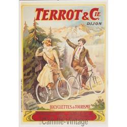 Carte Postale Terrot - Chamonix à Montanvers 1906
