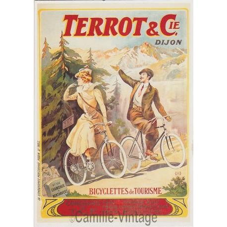 Postcard Terrot - Chamonix à Montanvers 1906