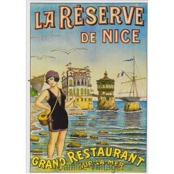 Carte Postale La Réserve de Nice
