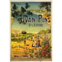 Postcard Juan Les Pins Commune d'Antibes - 1890