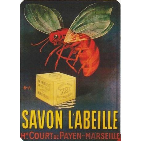 Tin signs Savon l'Abeille - Marseille