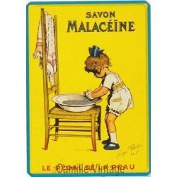 Plaque métal Savon Malacéïne - Redon
