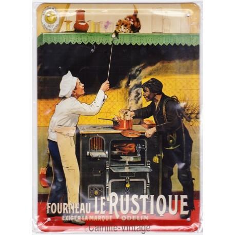 Tin signs Fourneau Le Rustique