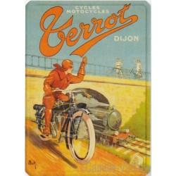 Plaque métal Motocycles Terrot Dijon