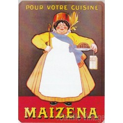 Tin signs Maïzena