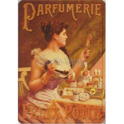 Plaque métal Félix Potin Parfumerie
