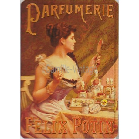 Tin signs Félix Potin Parfumerie