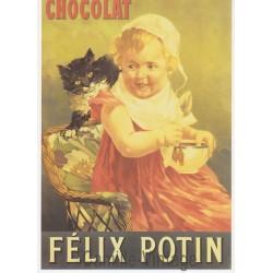 Carte Postale Félix Potin Chocolat