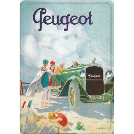 Tin signs Peugeot