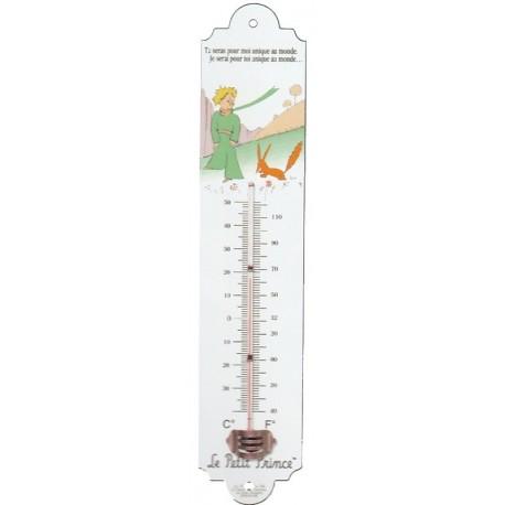 Thermomètre Le Petit Prince de St Exupéry et le Renard