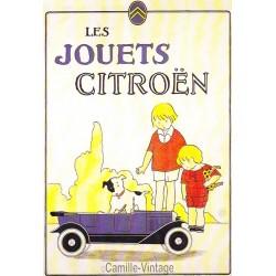 Postcard Les Jouets Citroën