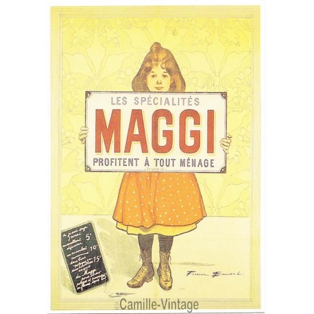 Postcard Maggi Les Spécialités