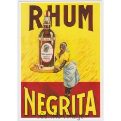 Carte Postale Rhum Négrita
