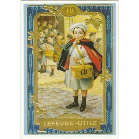 Carte Postale Lu Petit Ecolier Tableau