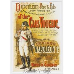 Carte Postale Clos Vougeot Nuits St Georges