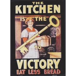 Plaque métal Kitchen