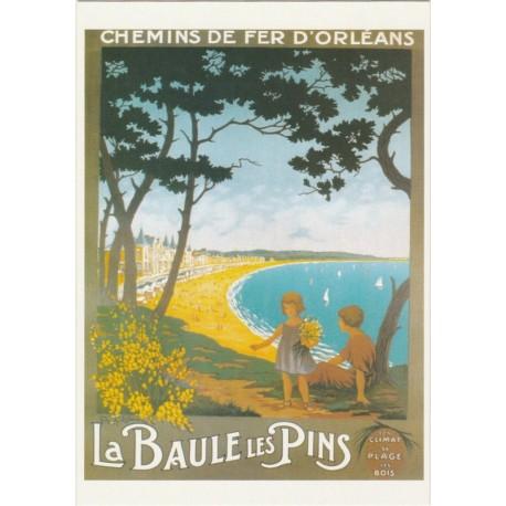 Postcard Chemins de Fer d'Orléans La Baule