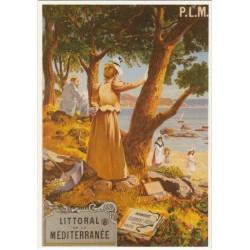 Carte Postale Littoral de La Méditerranée PLM