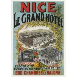Postcard Nice Le Grand Hôtel
