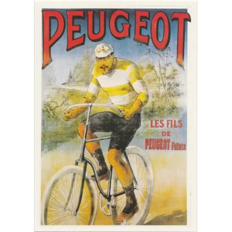 Carte Postale Les Fils de Peugeot Frères