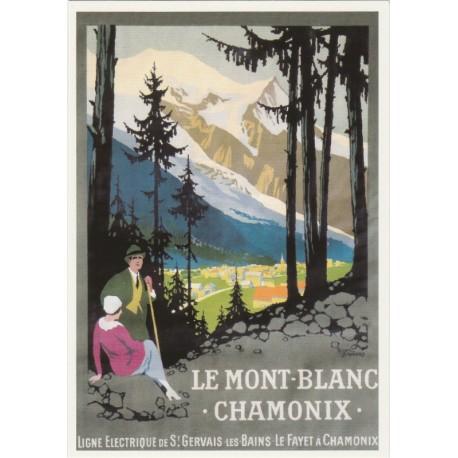Carte Postale Ligne Electrique de St Gervais-Les-Bains