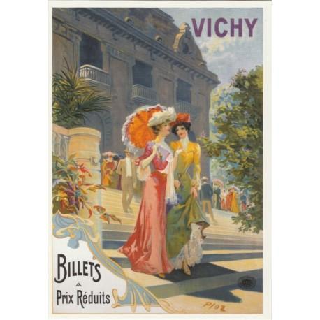 Postcard Vichy Billets à Prix réduits