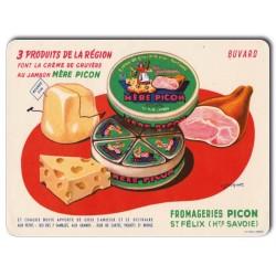 Plaque Aluminium Mère Picon Crème de Gruyère au Jambon