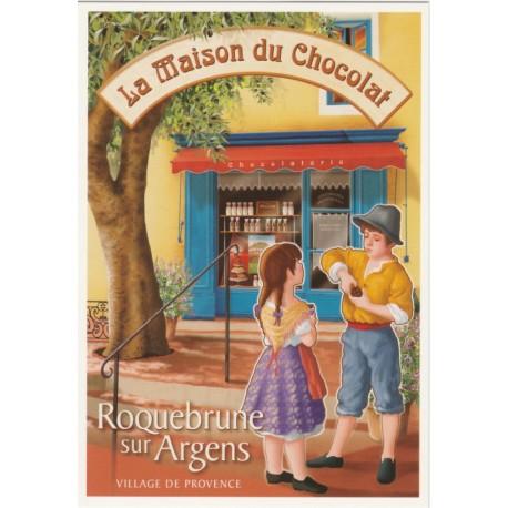 Carte Postale Maison du Chocolat