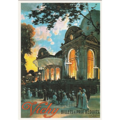 Postcard Vichy de Louis Tauzin