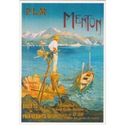 Carte Postale Menton P.L.M