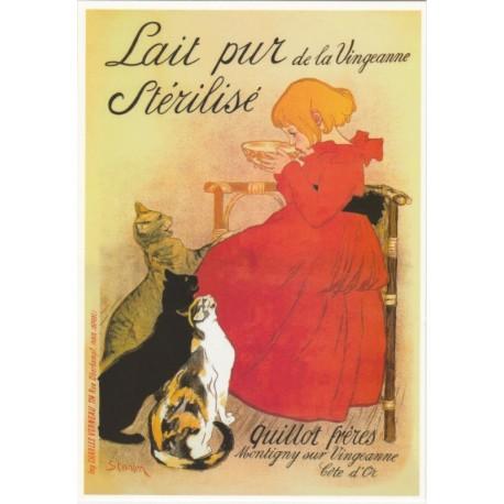 Carte Postale Lait pur stérilisé de la Vingeanne