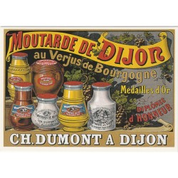 Postcard Moutarde de Dijon