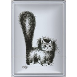 Tin signs Cat Dubout Mignon Matou