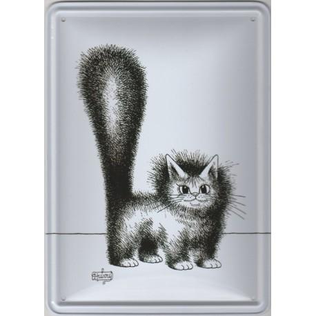 Tin signs Cat Dubout Mignon Matou