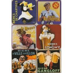 Dessous de verre Bière