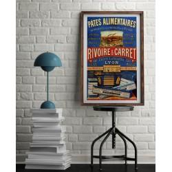 Affiche Rivoire & Carret Pâte Alimentaire