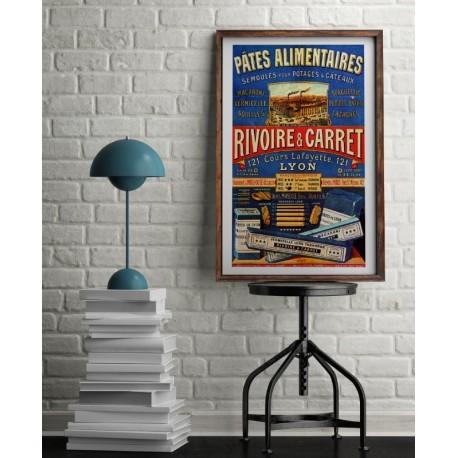 Poster Rivoire & Carré Pâte Alimentaire