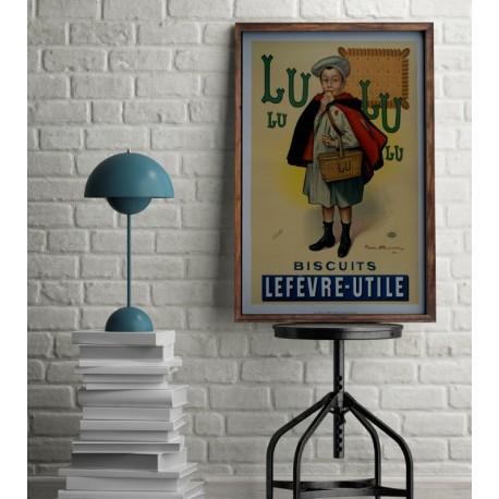 Affiche LU petit Ecolier