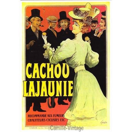 Postcard Cachou Lajaunie