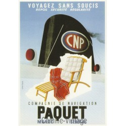 Carte Postale Compagnie de Navigation Paquet